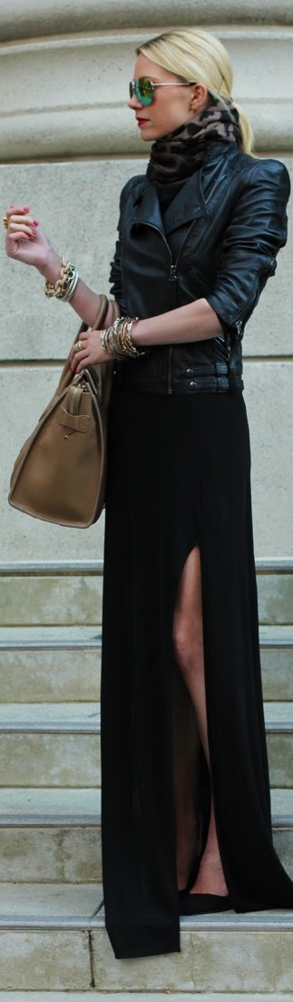 This polished chic chick is even rocking the closed-toe pointy pumps that are quintessential CBK.