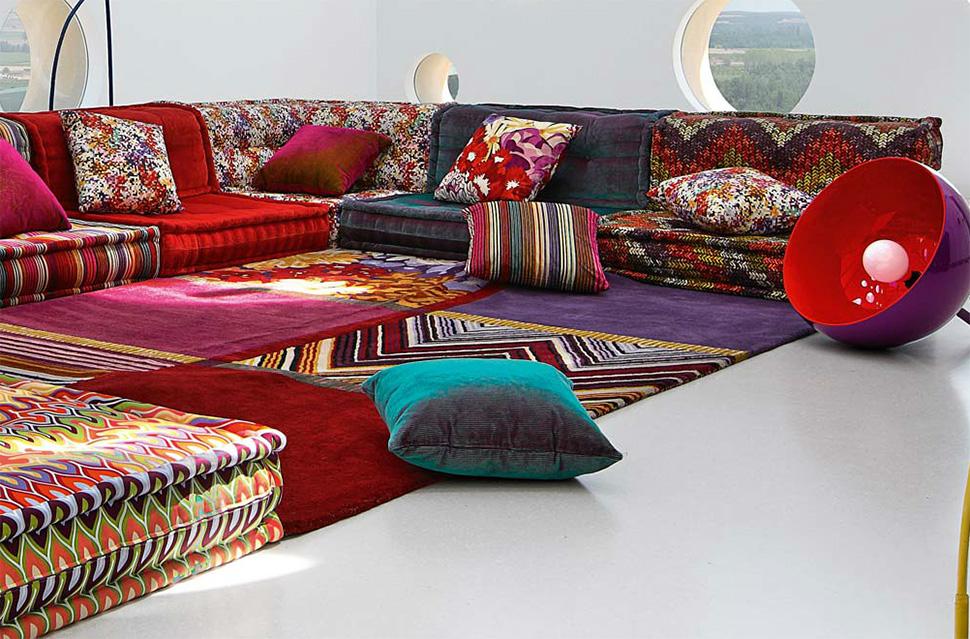 Super Dream Couch: Missoni Bohemian Sofa | the cherie bomb NJ83