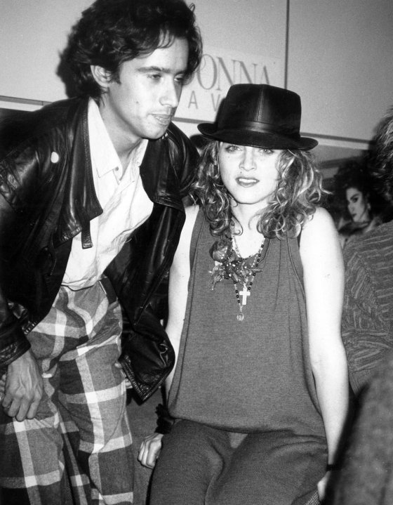 {Music Producer Jellybean Benitez + Madonna}