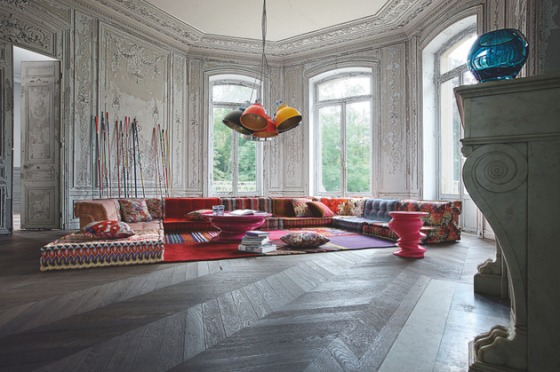 5. Roche-Bobois Gray Wood floors