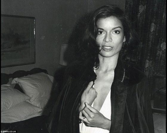 {Bianca Jagger}
