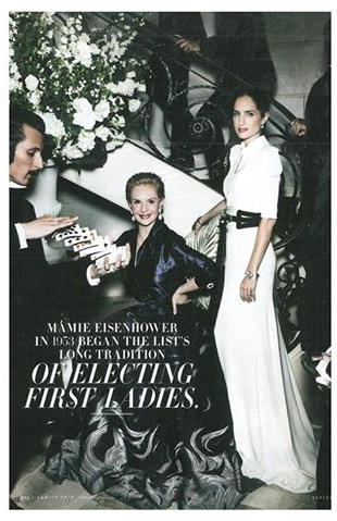 {Carolina Herrera & her daughter, Carolina Herrera Baez)