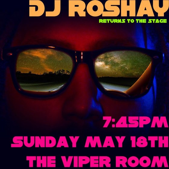 Dj Roshay Viper Room May 18