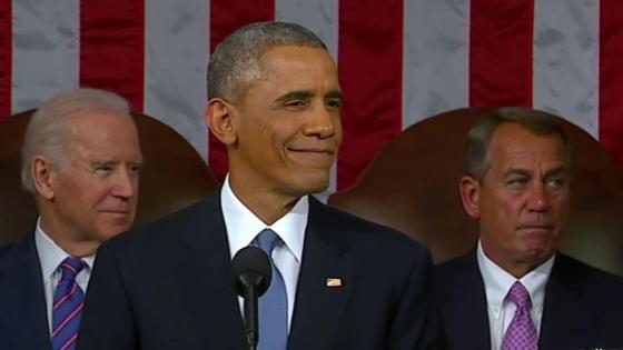 President Obama Shuts Down GOP Hecklers at State of the Union Address
