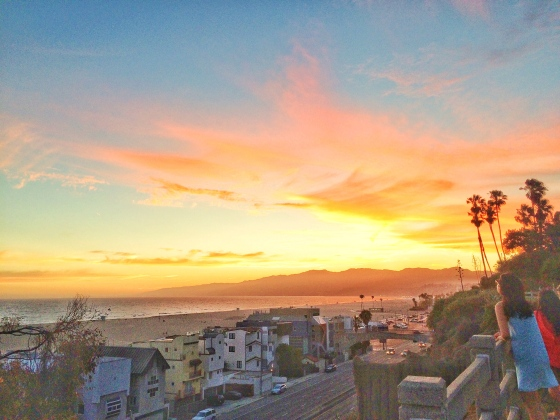 Photo of the Day: Basking in the Glow, Santa Monica at Sunset