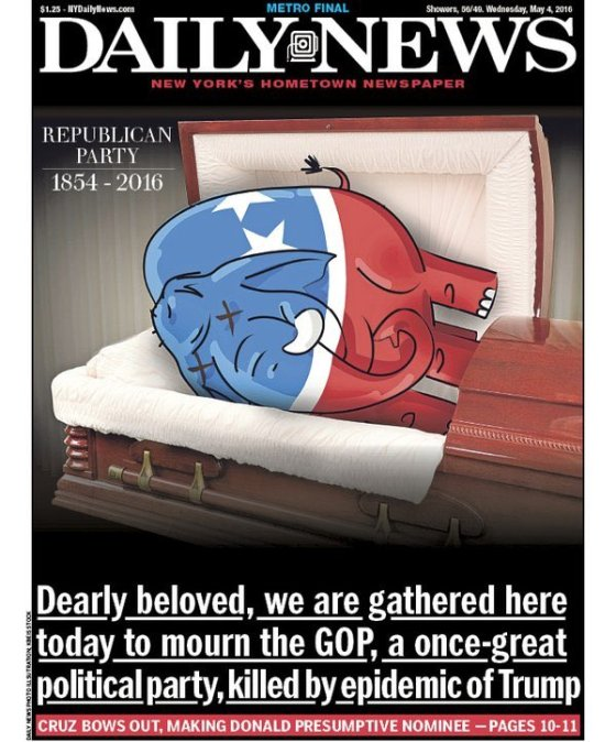 Daily News GOP RIP