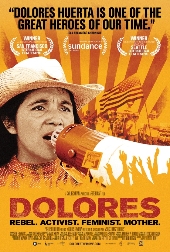 Tonight on PBS: Portrait of a Social Justice Icon Dolores Huerta